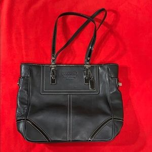 Authentic Coach Carryall Business Shoppers Tote
